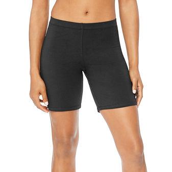 Hanes Women\'s Stretch Jersey Bike Shorts O9291