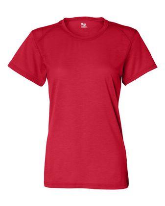Badger Women\'s B-Tech Cotton-Feel T-Shirt 4860