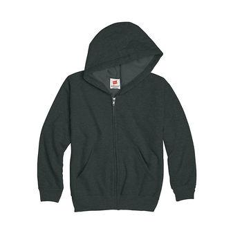 Hanes Comfortblend® EcoSmart® Full-Zip Kids\' Hoodie Sweatshirt P480
