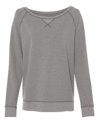 Alternative Women\'s Vintage French Terry Scrimmage Pullover Sweatshirt 5068