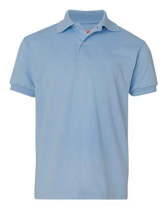 Hanes Youth Ecosmart Jersey Sport Shirt 054Y