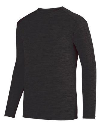 Augusta Sportswear Shadow Tonal Heather Long Sleeve Tee 2903