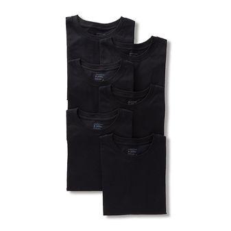 Jockey Men\'s Elance Crew Neck T Shirt - 6 Pack 9100
