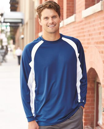 Badger B-Core Hook Long Sleeve T-Shirt 4154