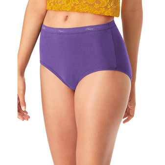 Hanes® Cool Comfort™ Women\'s Cotton Brief Panties 6-Pack PP40AD