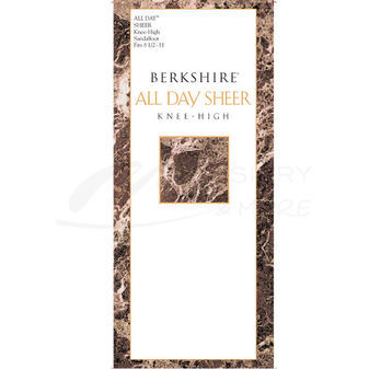 Berkshire Women\'s All Day Knee High Sandalfoot Pantyhose 6354