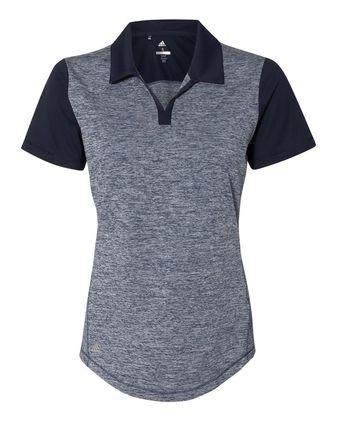 Adidas Women\'s Heather Block Sport Shirt A146