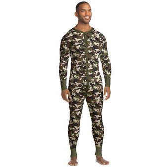 Hanes X-Temp Men\'s Thermal Union Suit 3X-4X 14630