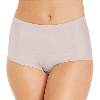 Vanity Fair Body Caress Smoothing Comfort Brief with Lace Panty 13262