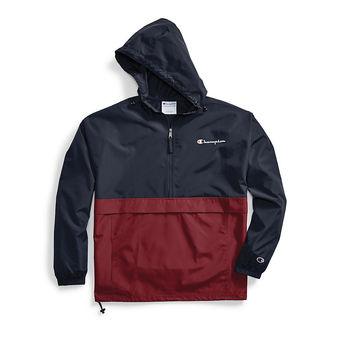 Champion Men\'s Colorblocked Packable Jacket V1016 549369