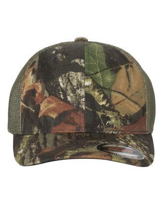 Flexfit Mossy Oak® Stretch Mesh-Back Cap 6911