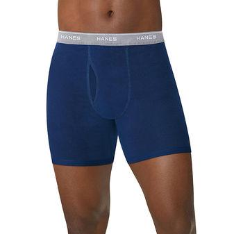 Hanes Men\'s ComfortSoft Boxer Briefs with Comfort Flex Waistband 5-Pack 2349U5