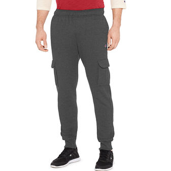 Champion Mens Powerblend Fleece Cargo Jogger Pants P29777