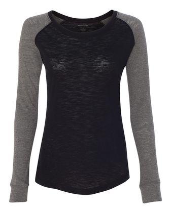 Boxercraft Women\'s Preppy Patch Slub T-Shirt T66