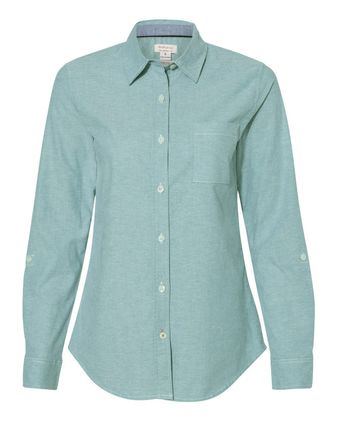 Weatherproof Women\'s Vintage Stretch Brushed Oxford Shirt W198331