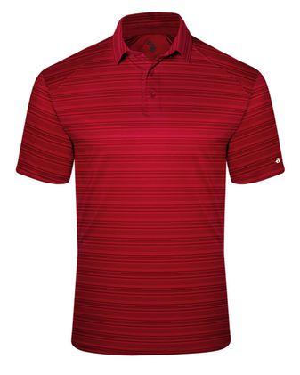 Badger Striped Sport Shirt 3325