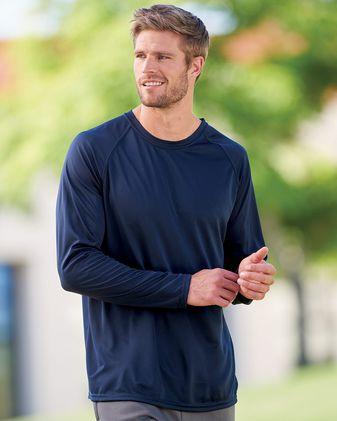 Augusta Sportswear Attain True Hue Performance Long Sleeve T-Shirt 2795