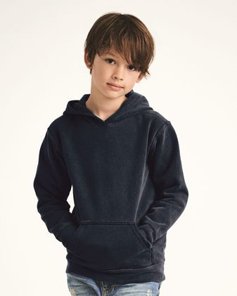 Comfort Colors Garment-Dyed Youth Hooded Sweatshirt 8755