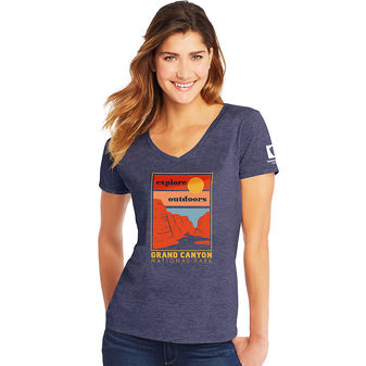 Hanes Grand Canyon National Park Women\'s Graphic Tee G9337P Y07769