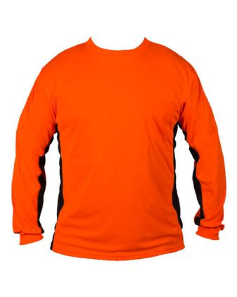 Kishigo Premium Black Series® Long Sleeve Hi-Viz T-Shirt 9202-9203