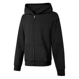 Hanes ComfortSoft™ EcoSmart® Girls\' Full-Zip Hoodie Sweatshirt OK270