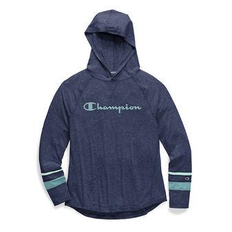 Champion Women\'s Phys. Ed. Hoodie. Script Logo W3825G 550099