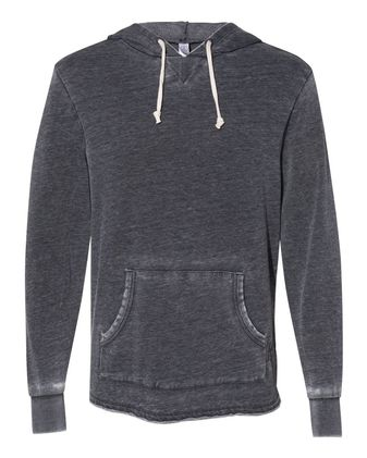 Alternative School Yard Burnout French Terry Hooded Sweatshirt 8629