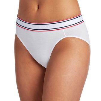 Jockey Women\'s Underwear Retro Stripe Hi Cut 2254