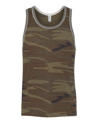 Alternative Eco-Jersey Double Ringer Tank 22060