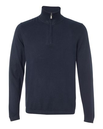 Weatherproof Vintage Cotton Cashmere Quarter-Zip Sweater 151391