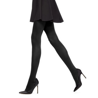HUE Women\'s Styletech Blackout Tights U14526
