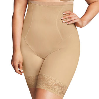 Maidenform Firm Foundations Curvy Hi Waist Thigh Slimmer DM1024