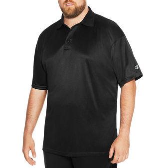 Champion Vapor Big & Tall Men\'s Short-Sleeve Polo CH407