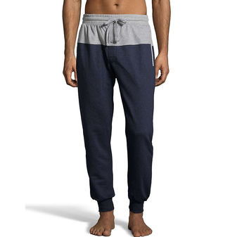 Hanes Men\'s 1901 Heritage French Terry Jogger with Front and Back Yoke 4153