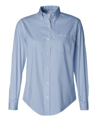 Van Heusen Women\'s Pinpoint Oxford Shirt 13V0110