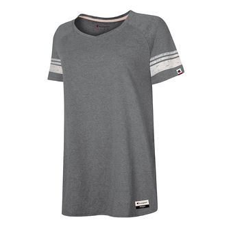 3dc80485 Champion Authentic Originals Womens Triblend Short Sleeve Varsity T-shirt  AO350 [$10.94] | Hosiery and More