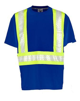 ML Kishigo Enhanced Visibility Pocket T-Shirt B200-B204