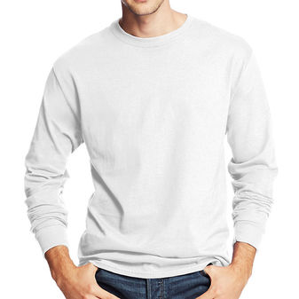 Hanes Mens 5. 2 oz COMFORTSOFT HEAVYWEIGHT T-Shirt 5286