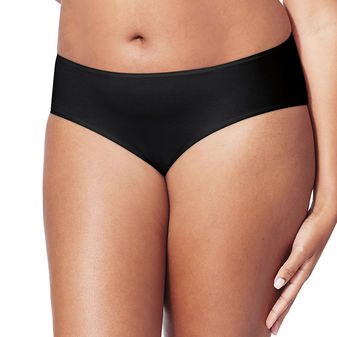 Just My Size Cotton-Stretch Women\'s Hipster Panties 5 Pack 1740C5