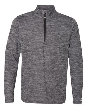 Russell Athletic Striated Quarter-Zip Pullover QZ7EAM