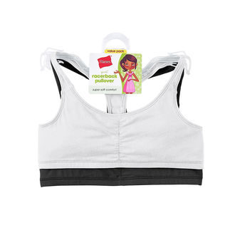 Hanes Girls\' Sports Top, 2-Pack H129