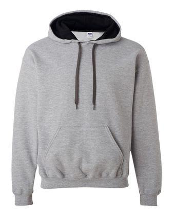 Gildan Heavy Blend™ Contrast-Color Hooded Sweatshirt 185C00