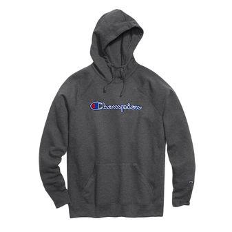 Champion Women Powerblend Fleece Pullover Hoodie Applique-Felt w/chainstitch W0934F Y07461