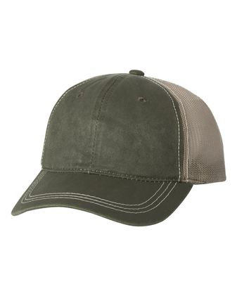 Outdoor Cap Weathered Mesh Back Cap HPD610M