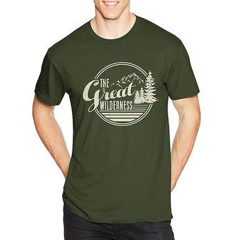 Hanes Men\'s The Great Wilderness Graphic Tee GT49 Y06369
