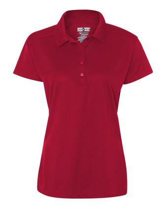 Jerzees Dri-Power Sport Women\'s Closed Hole Mesh Sport Shirt 441WR