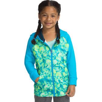 Hanes Sport™ Girls\' Tech Fleece Full Zip Hoodie OK382