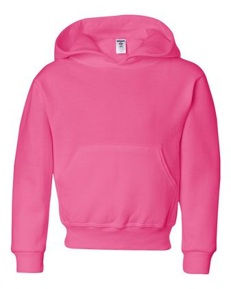 JERZEES NuBlend® Youth Hooded Sweatshirt 996YR