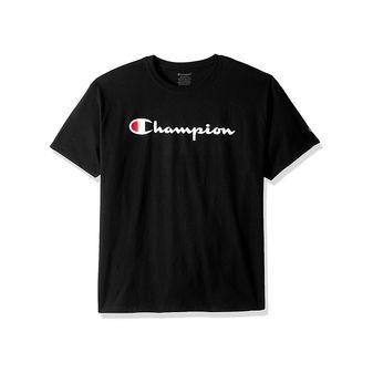 Champion Boys\' Jersey Tee, Script Logo OT435A Y07858