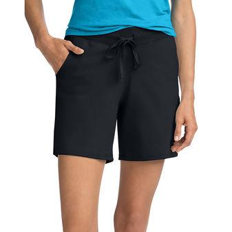 Hanes Women\'s Jersey Pocket Short O9264